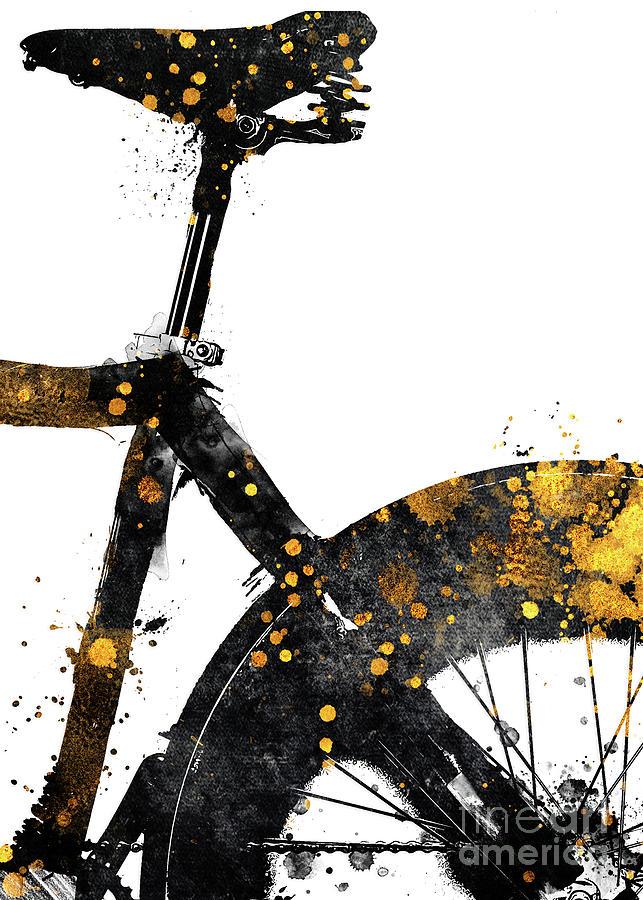 Cycling Bike Sport Art #cycling #sport #biking Digital Art
