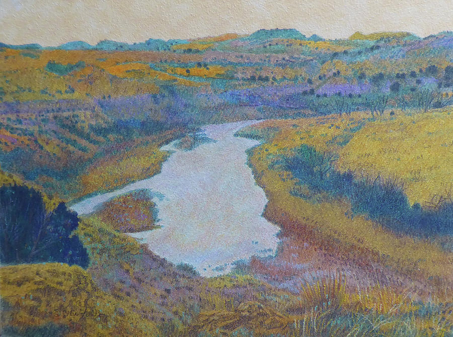 Dakota Grasslands River Dream by Cris Fulton