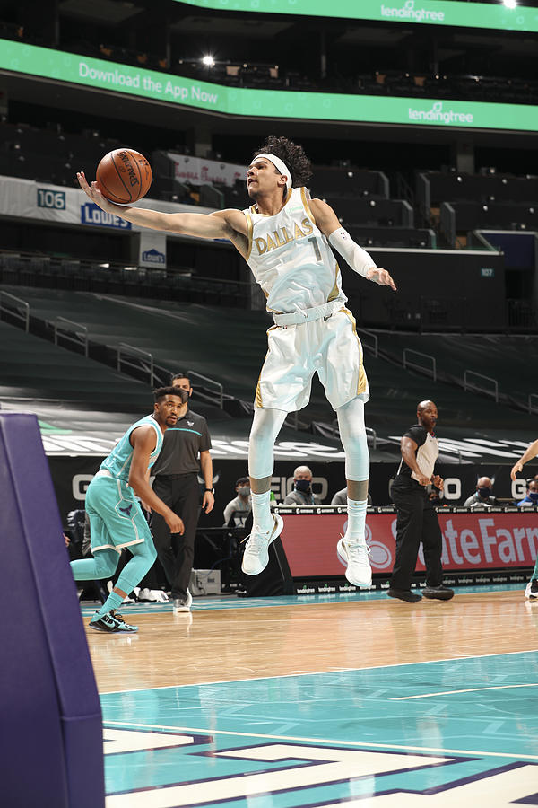 Dallas Mavericks v Charlotte Hornets Photograph by Kent Smith