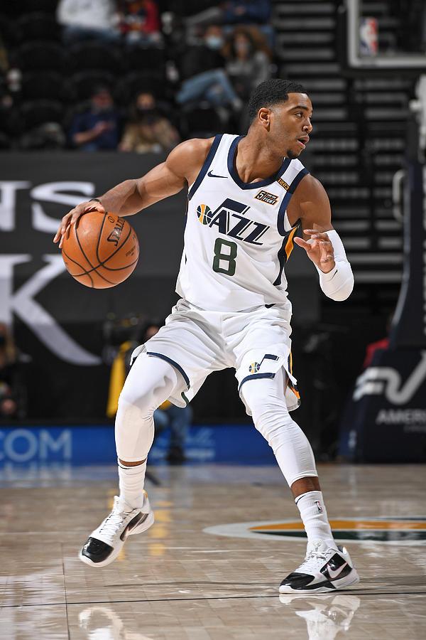 Dallas Mavericks v Utah Jazz Photograph by Garrett Ellwood