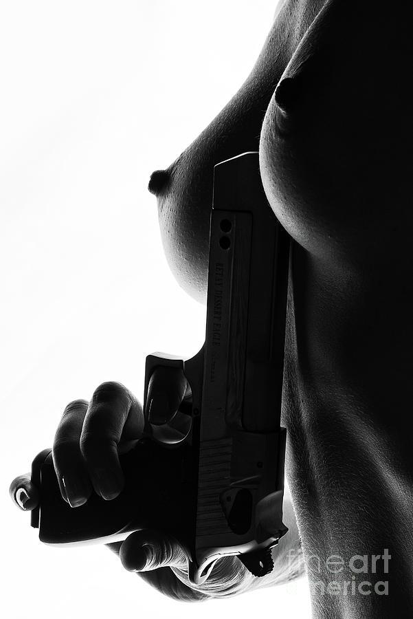 Gun Photograph - Dangerous Game by Burak Bulut Yildirim