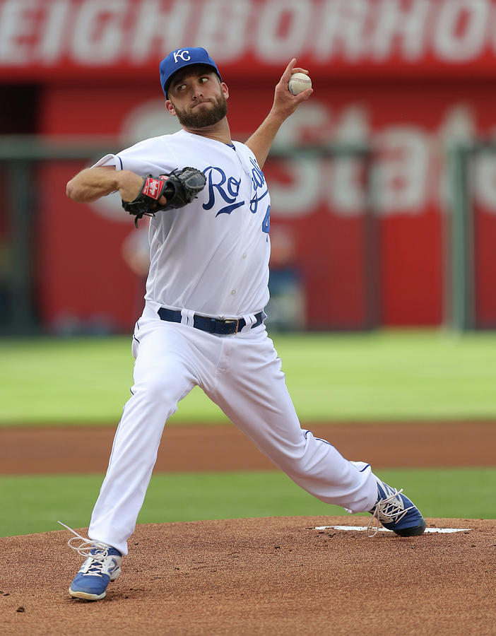 Danny Duffy Photograph by Ed Zurga