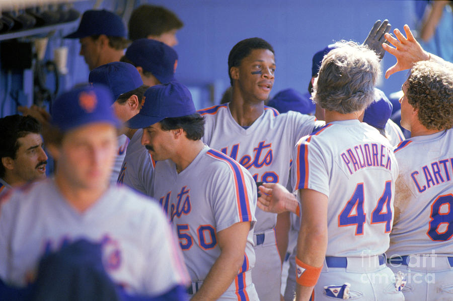 Darryl Strawberry Photograph by Andrew D. Bernstein
