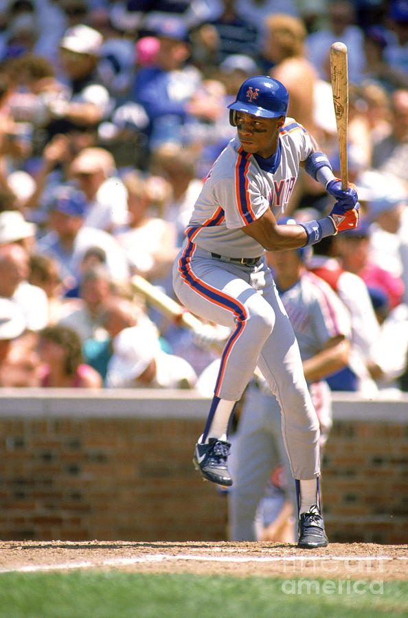 Darryl Strawberry Photograph by Ron Vesely
