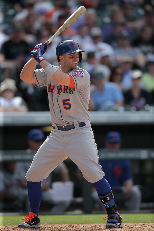 David Wright Photograph by Doug Pensinger
