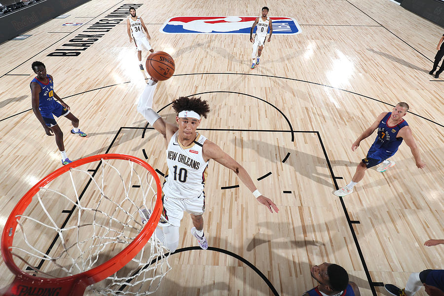 Denver Nuggets v New Orleans Pelicans Photograph by Joe Murphy