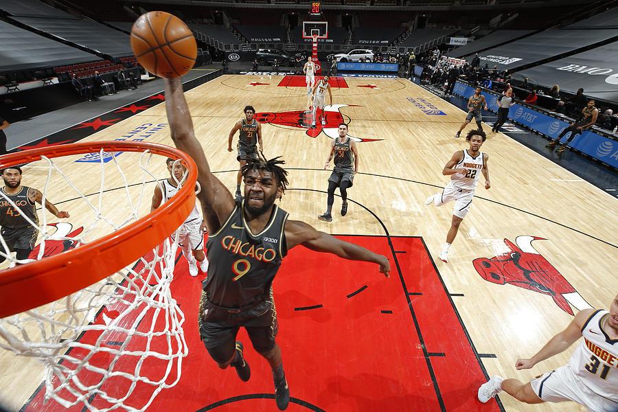 Denver Nuggets Vs. Chicago Bulls Photograph by Jeff Haynes