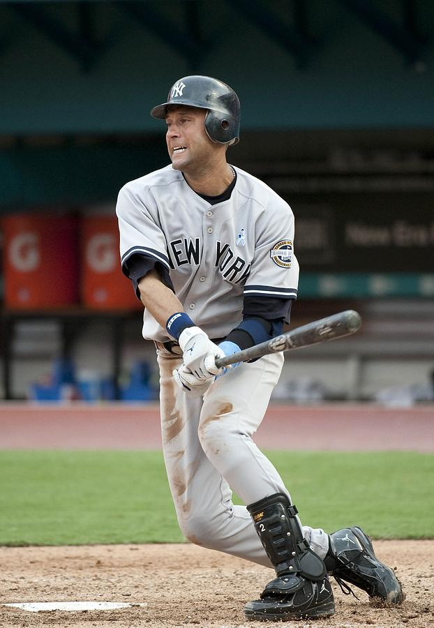 Derek Jeter Photograph by Ronald C. Modra/sports Imagery