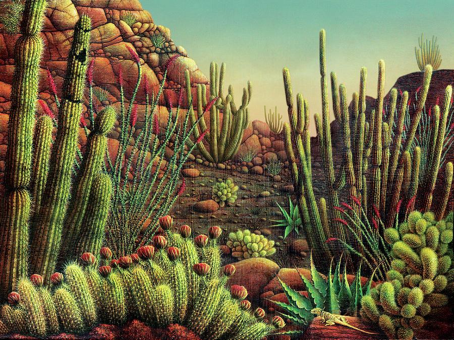 Desert Potpourri Digital Art