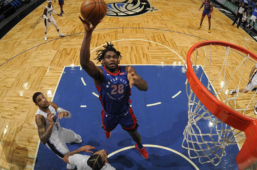 Detroit Pistons v Orlando Magic Photograph by Fernando Medina