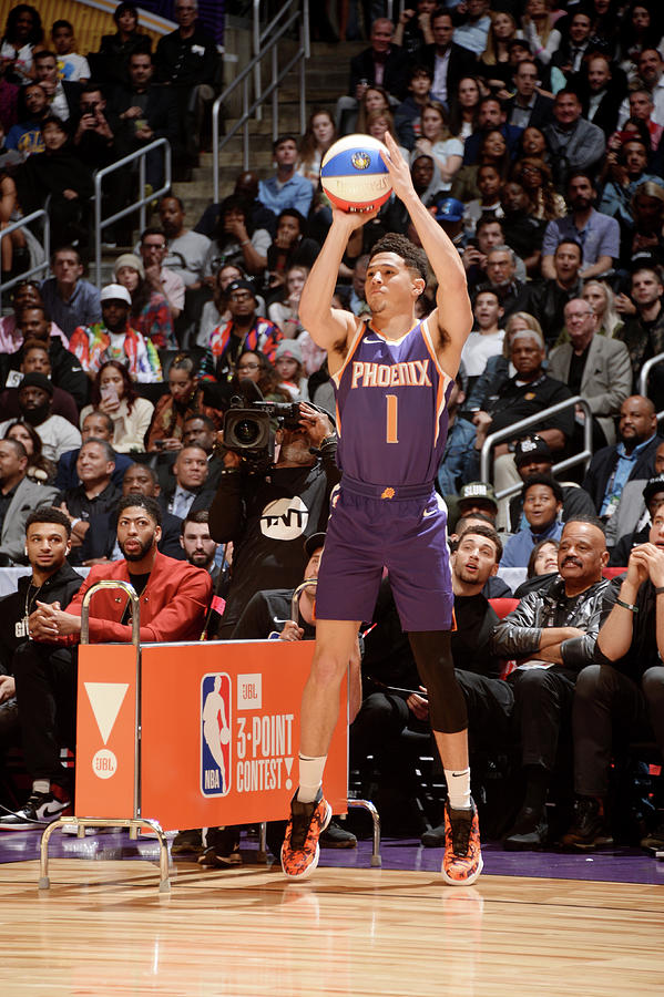 Devin Booker Photograph by Andrew D. Bernstein