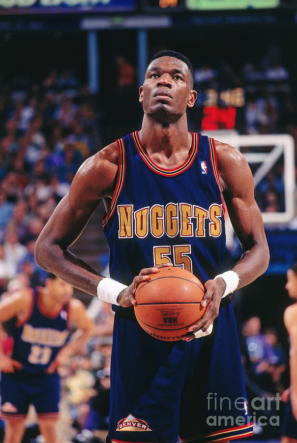 Dikembe Mutombo Photograph by Rocky Widner