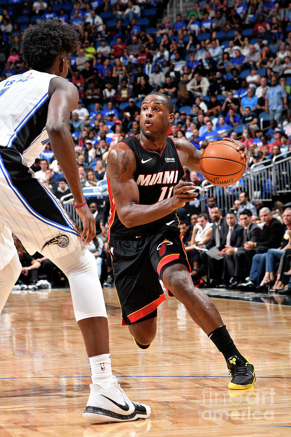 Dion Waiters Photograph by Fernando Medina