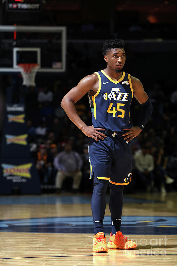 Donovan Mitchell Photograph by Joe Murphy