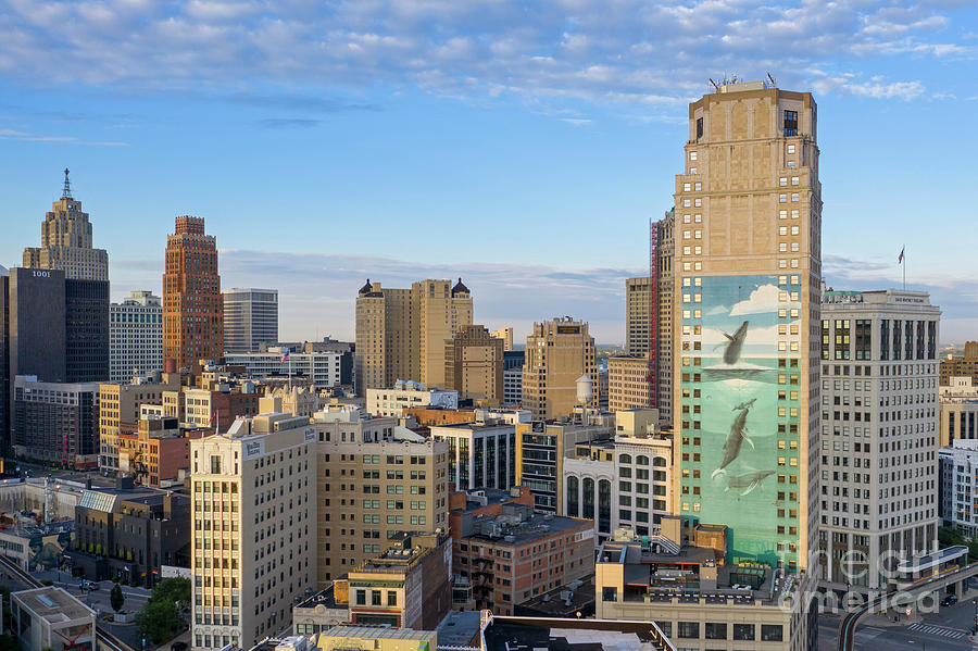Downtown Detroit Photograph
