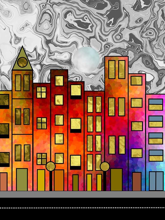 Downtown by Kathleen Sartoris