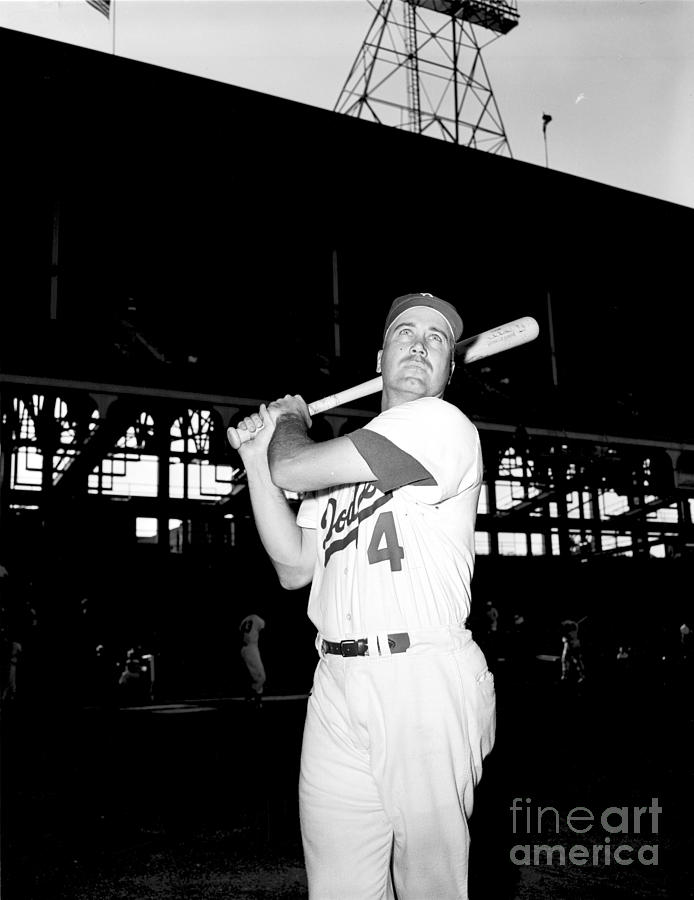 Duke Snider Photograph by Olen Collection
