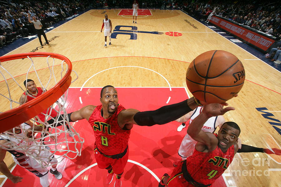 Dwight Howard Photograph by Ned Dishman
