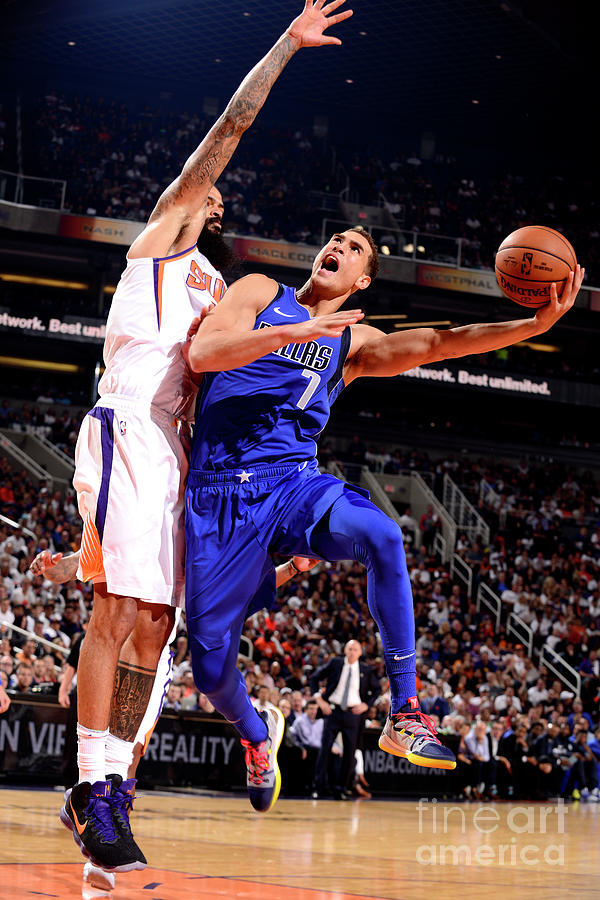 Dwight Powell Photograph by Barry Gossage