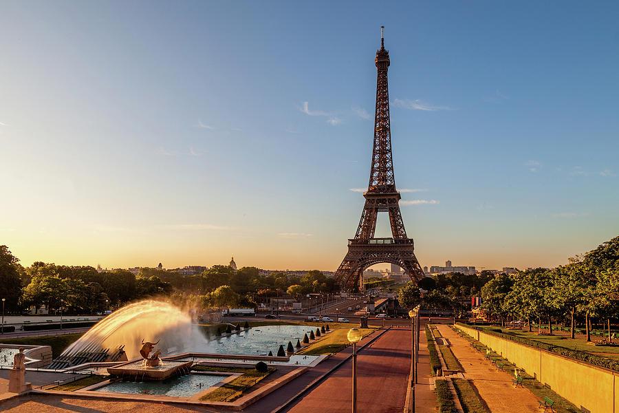 Eiffel at Dawn by Andrew Soundarajan