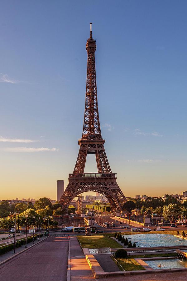 Eiffel Tower Paris by Andrew Soundarajan
