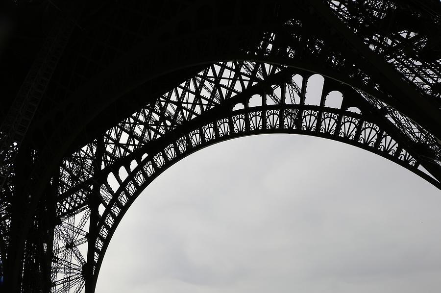 Paris Photograph - Eiffel Tower by Ron Berezuk