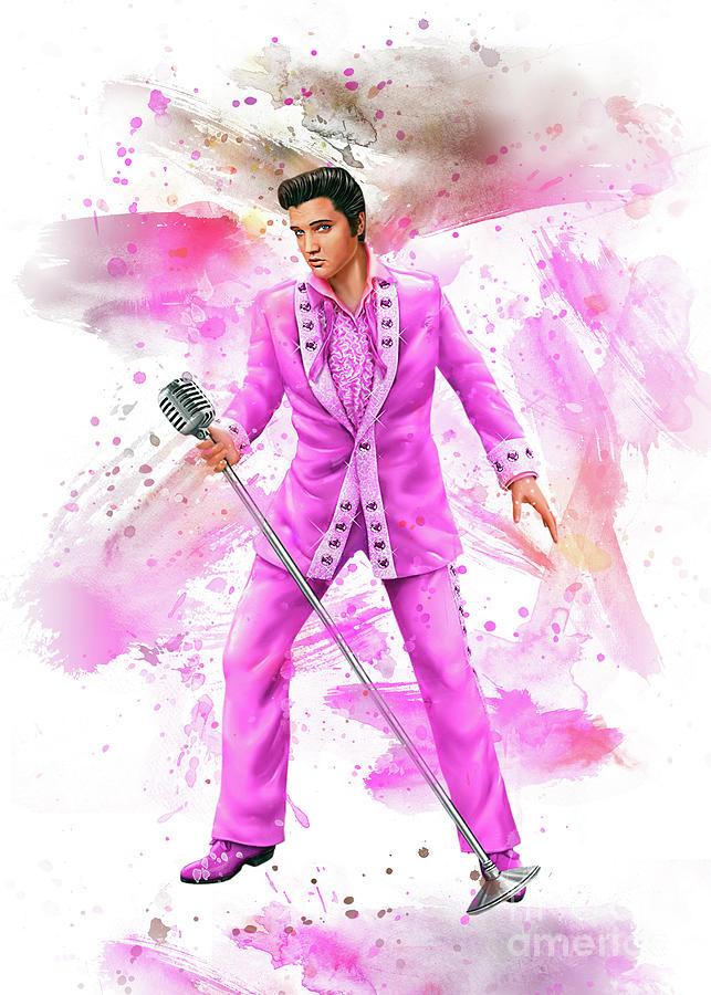 Elvis Art Digital Art