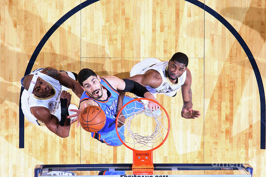 Enes Kanter Photograph by Layne Murdoch