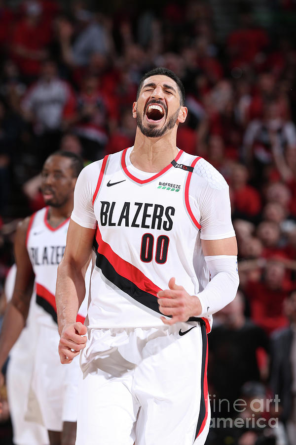 Enes Kanter Photograph by Sam Forencich