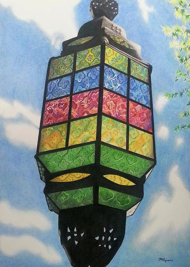 Colour Drawing - Enlightenment by Michelle Ripari