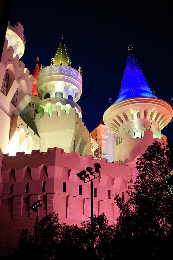 Excalibur hotel by Chris Smith