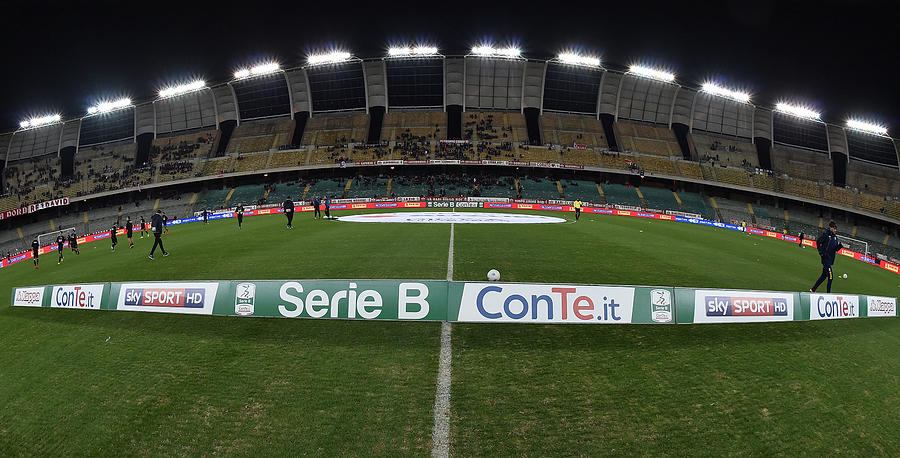 FC Bari v Parma Calcio - Serie B Photograph by Giuseppe Bellini