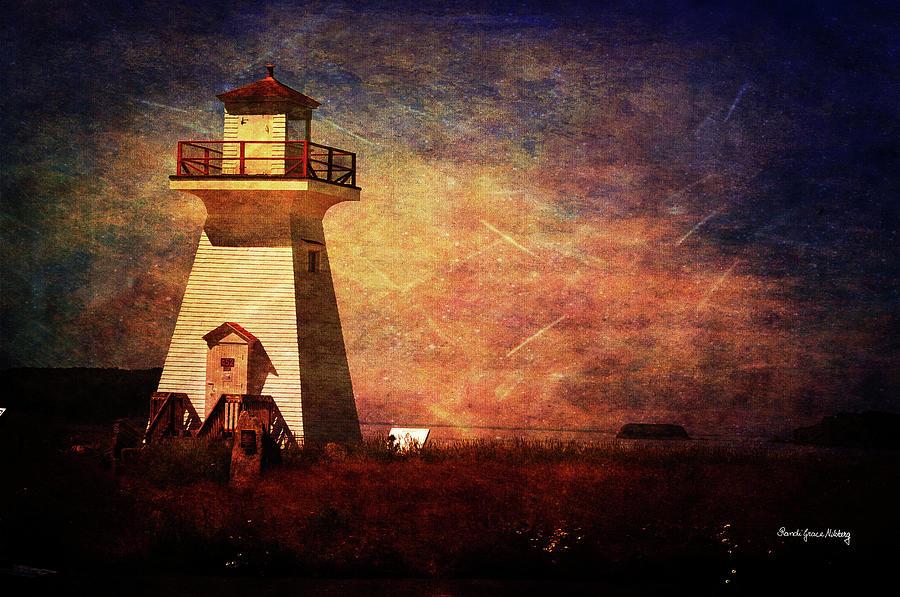 Five Islands Lighthouse by Randi Grace Nilsberg