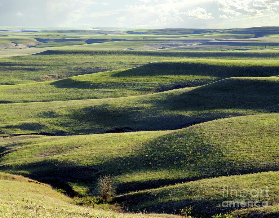 Flint Hills Of Kansas Photograph