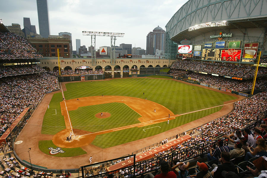 Florida Marlins v Houston Astros Photograph by Bill Baptist