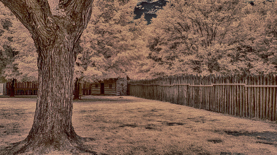 Fort Photograph - Fort Watauga by Jim Cook
