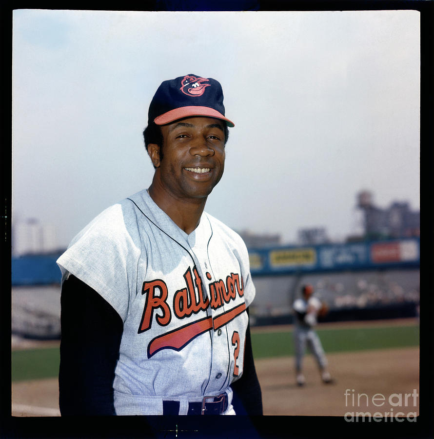 Frank Robinson Photograph by Louis Requena