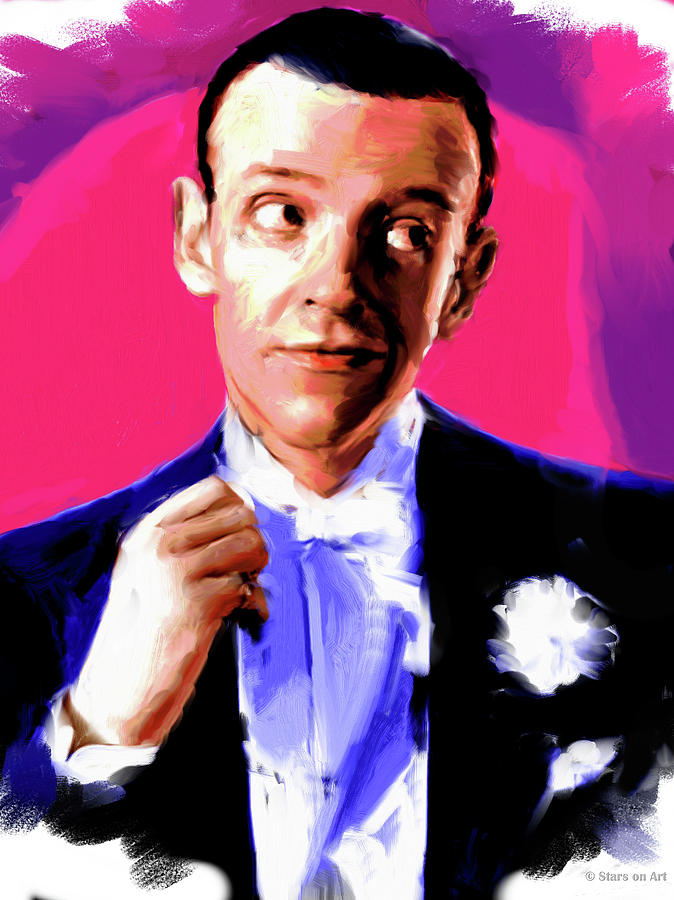 Fred Astaire Painting