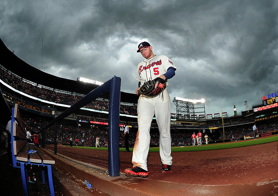 Freddie Freeman Photograph by Scott Cunningham