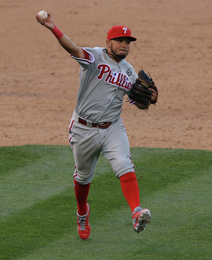 Freddy Galvis Photograph by Doug Pensinger