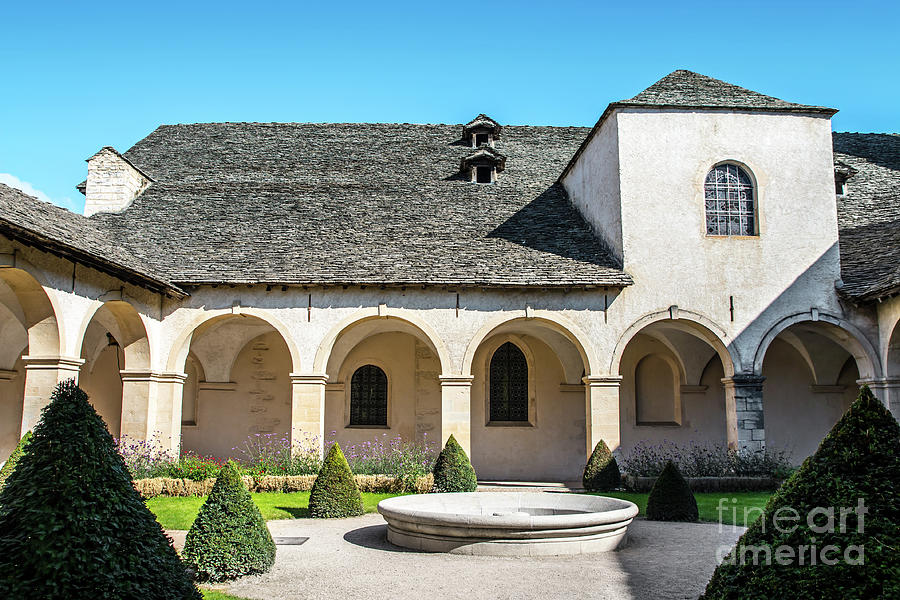 French Augustinian Convent building of Cremieu in Isere Rhone-Alpes by Gregory DUBUS