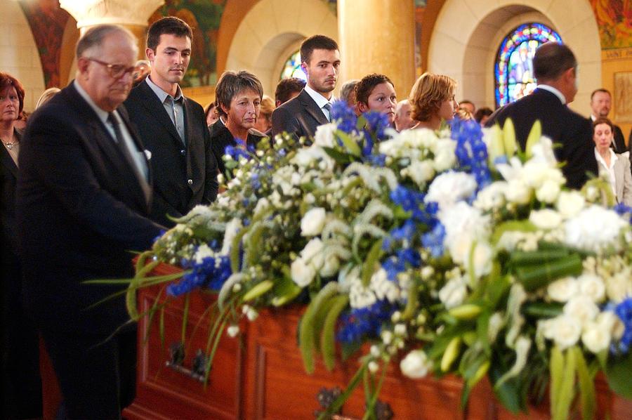 Funeral For UN Special Envoy Sergio Vieira de Mello Photograph by Getty Images