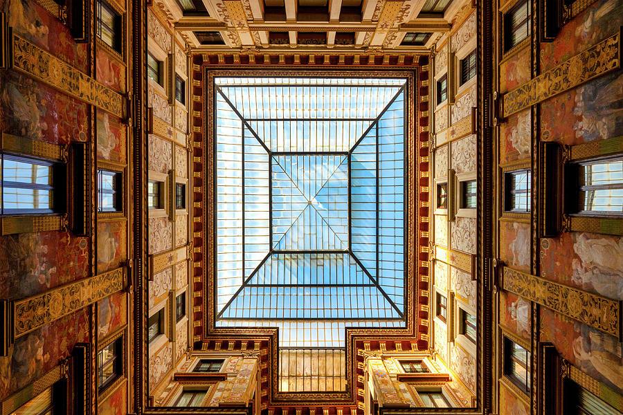 Galleria Sciarra by Fabrizio Troiani