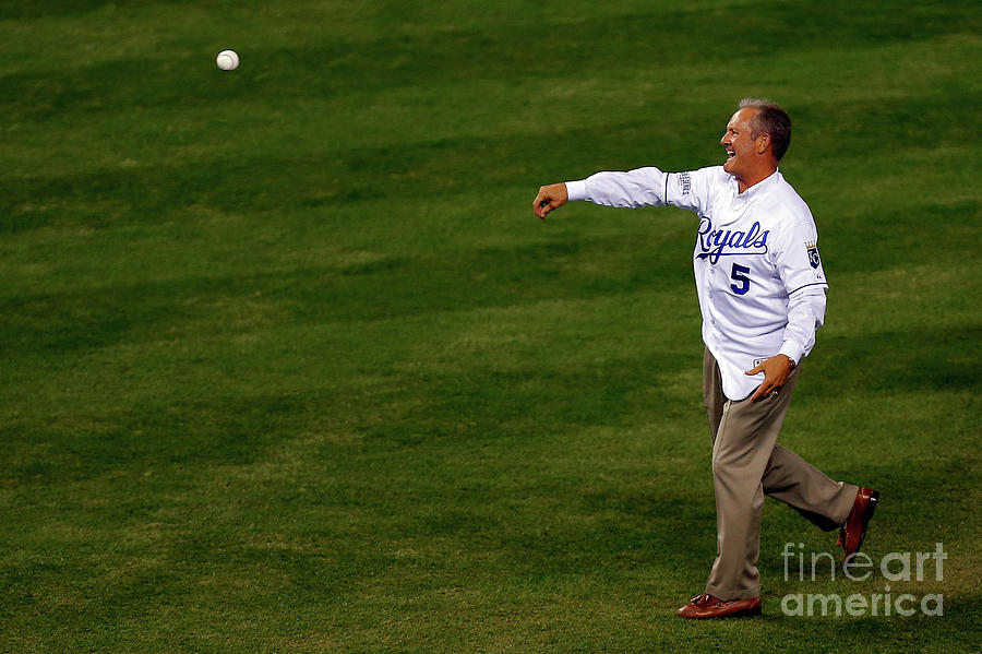 George Brett Photograph by Ed Zurga
