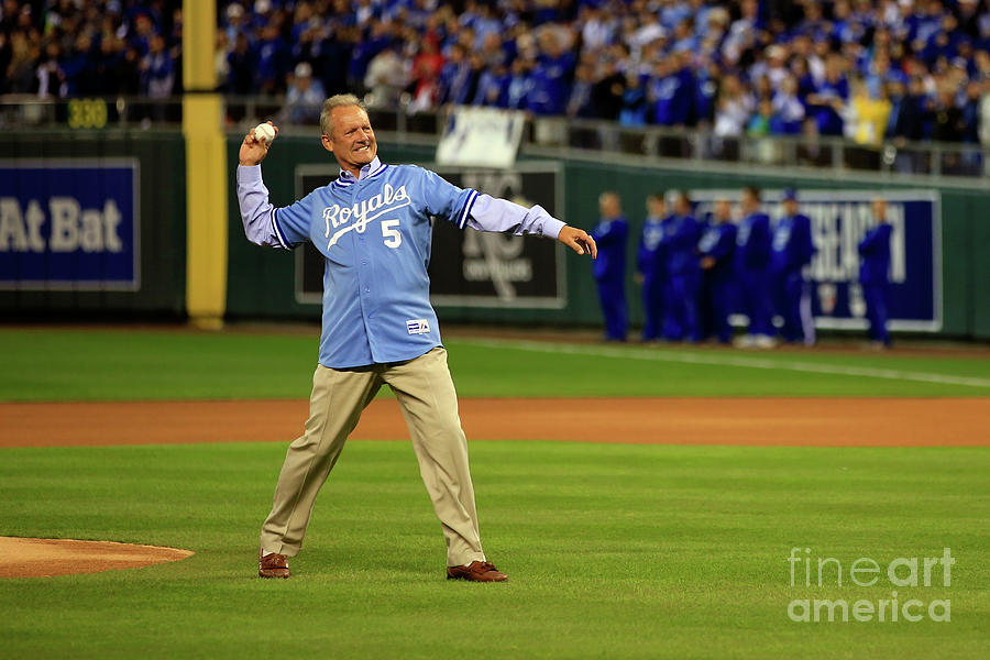 George Brett Photograph by Jamie Squire