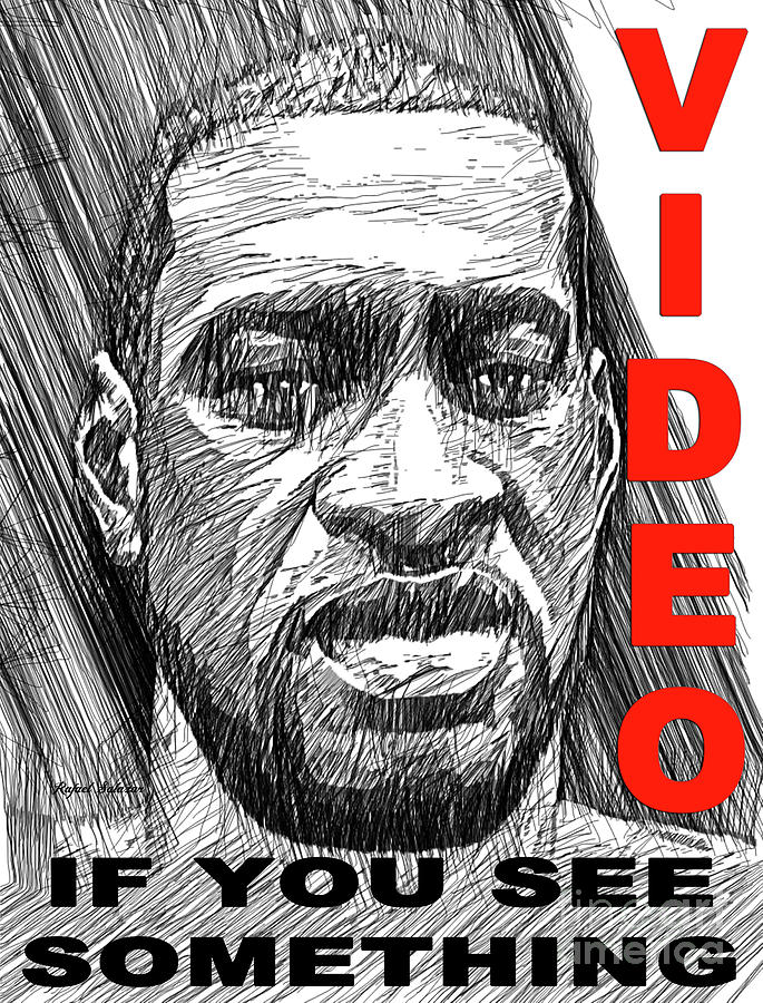 George Floyd - Black Lives Matter Painting