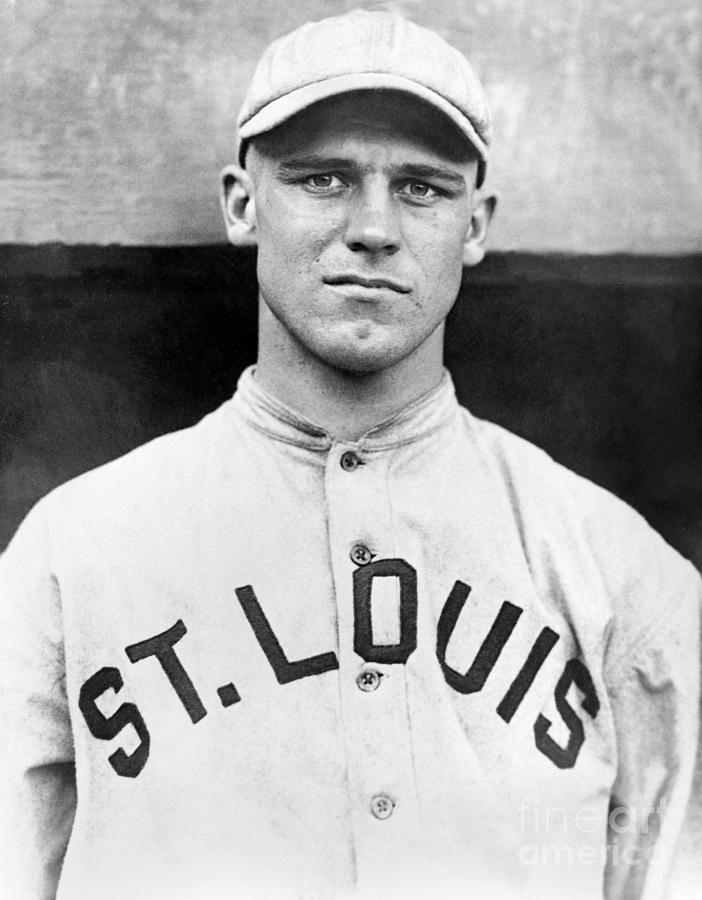 George Sisler Photograph by National Baseball Hall Of Fame Library