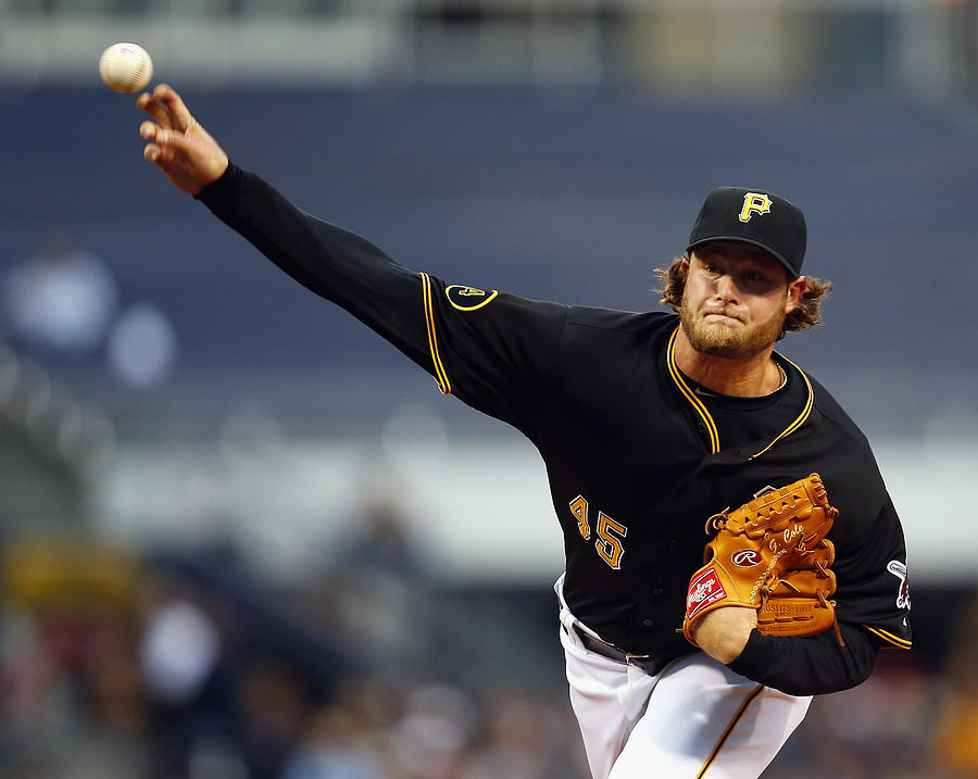 Gerrit Cole Photograph by Matt Sullivan