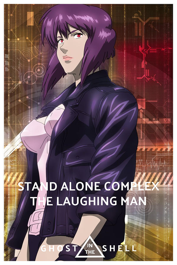 Ghost In The Shell Stand Alone Complex The Laughing Man 2005 Digital Art By Geek N Rock