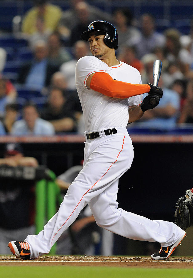 Giancarlo Stanton Photograph by Rhona Wise